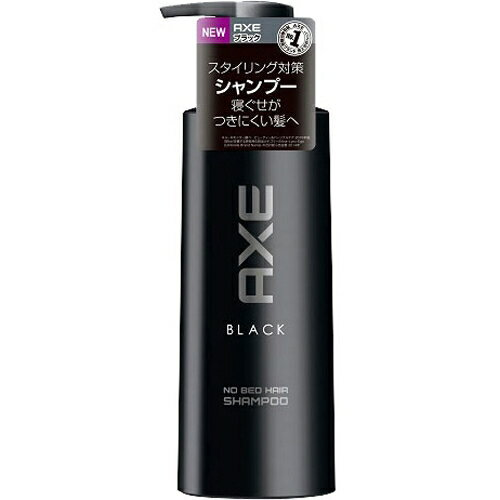 【ポイントボーナス】アックス ブラック ノーベッドヘア シャンプー ポンプ 350g