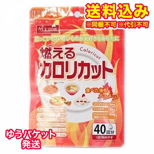 【ゆうパケット送料込み】エムズワン 燃えるカロリカット 120粒(40回分)