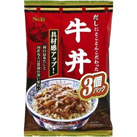 どんぶり党 牛丼 (120g×3袋)×8個