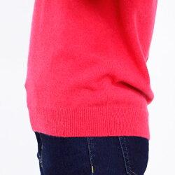 セーター長袖カシミヤ100%Vネックセーターレディースニット高級素材カシミヤ100%保温性保湿性なめらかやわらかふんわりMLLLクリームピンクベージュサックスグレークロNEW