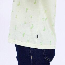 Tシャツ半袖PeterRabbit(ピーターラビット)ピーター総柄プリントTシャツレディースキャラクタープリントMLLL3LオフライトグリーンサックスグレーNEW夏「201923w」