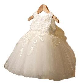 c9426ec7f1481 フラワーガール 子どもドレス 女の子 キッズドレス リボン 結婚式 ホワイト ピンク レッド80cm 90cm 100cm