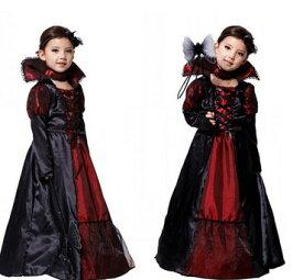 53cd78043eaac ハロウィン衣装 コスプレ 子供ドレス ワンピース Halloween 悪魔 吸血鬼 仮装 コスプレ コスチューム