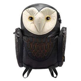 アニマルバッグ モーン Hug.FACTORY The owls メンフクロウバックパック BO-102 リュックサック MORN ジッパー付き ショルダーストラップ 撥水加工ナイロン 大人リュック アニマル柄 ナップザック レディースバッグ 入学式 入社式 卒業式 ギフト【gwtravel_d19】