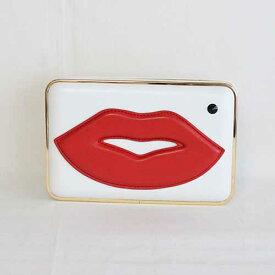 ノベルティあり バッグ Lovinke 個性派 バッグ マザーズバッグ レディースバッグ レディース A17SS018 Red Lips Evening Bag エアリー 好きにおすすめ レディースバッグ 入学式 入社式 卒業式 ギフト【gwtravel_d19】