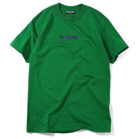 プリビレッジ PRIVILEGE 半袖 Tシャツ メンズ 男性 丸首 TEE t-shirt 半そで ティーシャツ ブランド 大きいサイズ ビッグサイズ ストリート SMALL NEW YORK CORE LOGO TEE PV19AW04 KELLY GREEN ケリーグリーン 緑