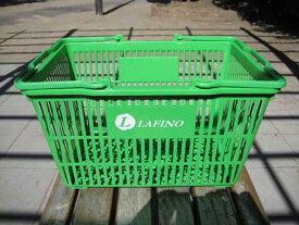 テニスプロショップラフィノ オリジナルボールかご(lafinoグリーン)