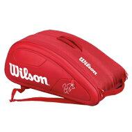 【予約商品】Wilson(ウイルソン)FedererDNA12PKRedWRZ830712
