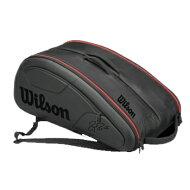 【予約商品】Wilson(ウイルソン)FedererDNA12PKBlackWRZ830712
