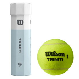 Wilson(ウイルソン) 硬式テニスボール TRINITI(トリニティ) 4球BOX WRT115200