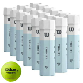 Wilson(ウイルソン) 硬式テニスボール TRINITI(トリニティ) 4球x18(72球) WRT115200