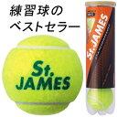 【バラ売り】ダンロップ(DUNLOP) テニスボール セントジェームス(St.JAMES) 4球入1缶(DSTJAMESN4DOZ)