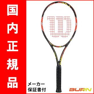 网球球拍 (Wilson) 100ULS 烧伤 (烧伤 100 ULS) WRT 725610 + * 智能网球传感器支持
