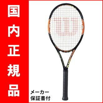 网球球拍 (Wilson) 烧伤 WRT 730610 95 (班 95 J) J + * 智能网球传感器支持