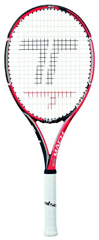 トアルソン(TOALSON)テニスラケット エスマッハ・ツアー280(S-MACH TOUR 280)オレンジ 1DR812O2/1DR812O3