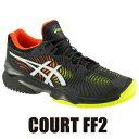 【4/上旬頃発売予定(予約品)】 アシックス(asics) テニスシューズ コートFF2(COURT FF2/OC Men's)1041A084-001 オムニクレーコー…