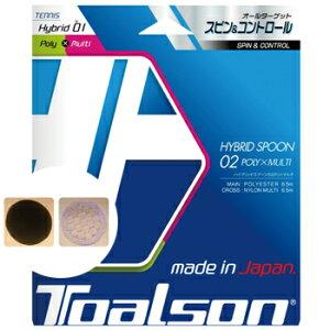 トアルソン(TOALSON)ストリング ハイブリッドスプーン02 ポリ×マルチ(HYBRID SPOON 02 POLY × MULTI)