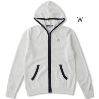 エレッセ (ellesse) Lady's technical center lacing braid full zip parka EW77322