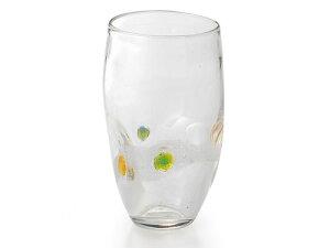 〔ガラス食器〕「手作り」なので世界にひとつ!あなただけのグラスです。ほのか ハイカップ(1P)【炭酸水】