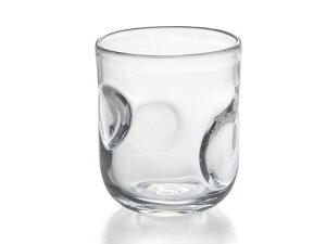 〔手作り ガラス食器〕ファインリップル ロックグラス1P(クリア)【炭酸水】