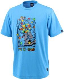 CONVERSE(コンバース) バックコートエディション プリントTシャツ 裾ラウンド メンズ バスケットボールウェア CBE282320-2200