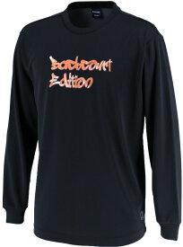 CONVERSE(コンバース) バックコートエディション プリントロングスリーブシャツ 裾ラウンド CBE282322L-1900