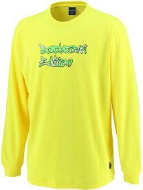CONVERSE(コンバース) バックコートエディション プリントロングスリーブシャツ 裾ラウンド CBE282322L-5200F