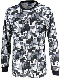 CONVERSE(コンバース) バックコートエディション 昇華プリントロングスリーブシャツ 裾ラウンド CBE282323L-1900