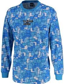 CONVERSE(コンバース) バックコートエディション 昇華プリントロングスリーブシャツ 裾ラウンド CBE282323L-2200