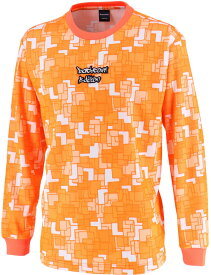 CONVERSE(コンバース) バックコートエディション 昇華プリントロングスリーブシャツ 裾ラウンド CBE282323L-5600F