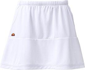 ellesse(エレッセ) (レディース・ガールズ テニスウェア) チームスカート テニス ゲームシャツ・パンツ ETS2810L-W