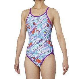 ARENA(アリーナ) ディズニー水着-レディス DIS-9355W-PPL 水泳 レディース