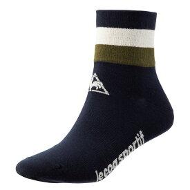 ルコック(le coq sportif) エッセンシャルソックス / Essential ソックス 靴下 QCANGB03-NVY メンズ サイクリング
