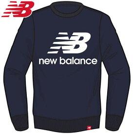 ニューバランス(new balance) エッセンシャルスタックドロゴクルー AMT91548PGM メンズ ランニングウェア AMT91548-PGM