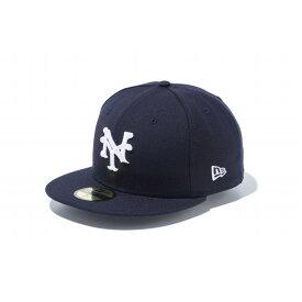 ニューエラ(NEW ERA) 59FIFTY ニグロリーグ ニューヨーク・キューバンズ ネイビー × ホワイト 11781685 メンズ
