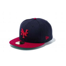 ニューエラ(NEW ERA) 59FIFTY ニグロリーグ ニューヨーク・キューバンズ チームカラー 11781686 メンズ