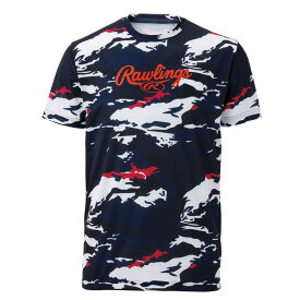 Rawling(ローリングス) コンバットTシャツ AST9S06-N/W