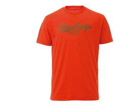 Rawling(ローリングス) スクリプトロゴTシャツ AST9S11-ORG