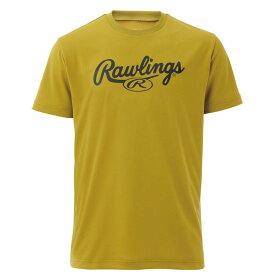 Rawling(ローリングス) スクリプトロゴTシャツ AST9S11-RGO