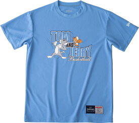 SPALDING(スポルディング) Tシャツ トム&ジェリー バスケット Tシャツ SMT190580-SAX