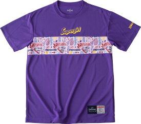 SPALDING(スポルディング) Tシャツ スーパーガールパネル バスケット Tシャツ SMT190630-PPL