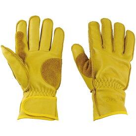 CAPTAIN STAG(キャプテンスタッグ) アウトドアソフトレザーグローブ(握りやすい)<フリーサイズ> 手袋 UM1919