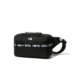 ニューエラ(NEW ERA) スクエア ウエストバッグ 7L ロゴテープ ブラック 12541072