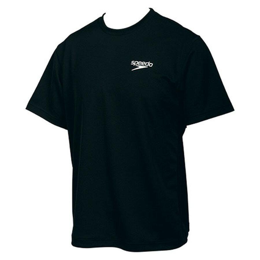 Speedo(スピード) Tシャツブラック【ユニセックス】 [ SD14T01-K ]