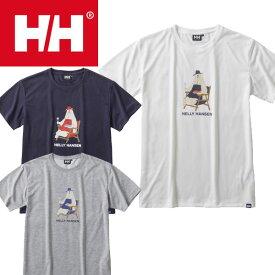 ヘリーハンセン HELLY HANSEN ウェア Tシャツ ショートスリーブベアティー(ユニセックス)半袖 HOE61703