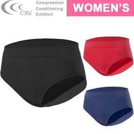 C3fit(シースリーフィット)コンフォートストレッチショーツ【レディース】[ GCW80350 ] Comfort Stretch Shorts スポーツ アンダーウェア