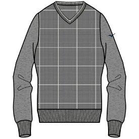 MIZUNO(ミズノ) V首 ニットセーター ゴルフ アパレル メンズ 52MC952107
