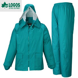 LOGOS ロゴス シーペットスーツ エース総裏メッシュ(袋入り) LLサイズ エメラルドグリーン(レイン) 23210401