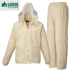LOGOS ロゴス シーペットスーツ エース総裏メッシュ(袋入り) Lサイズ アイボリー(レイン) 23210652