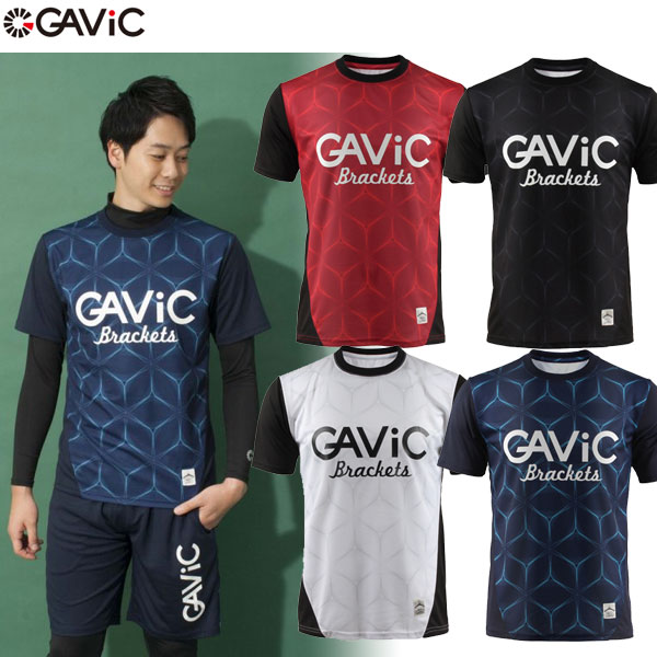 GAViC(ガビック) サッカー・フットサル カレイド柄プラクティスシャツ GA8039(RO)【ユニセックス】【RCP】 【送料無料】